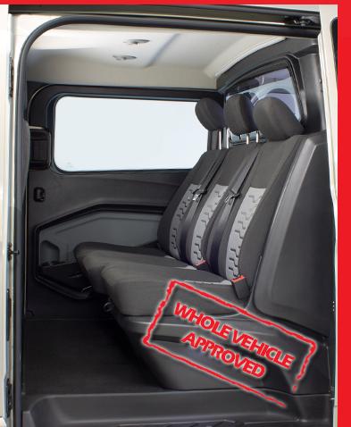 DoubleCabin Crew Van